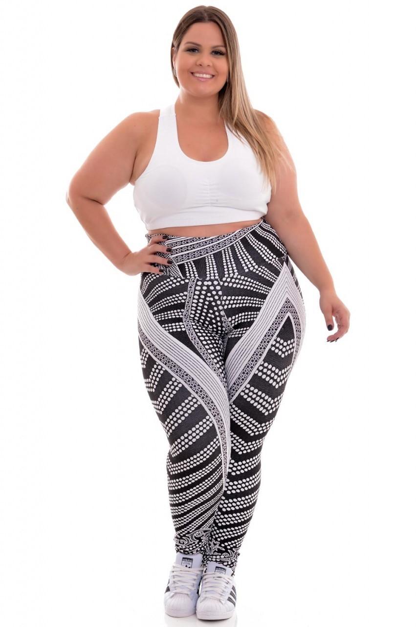 Leggin Plus Size New Fitness