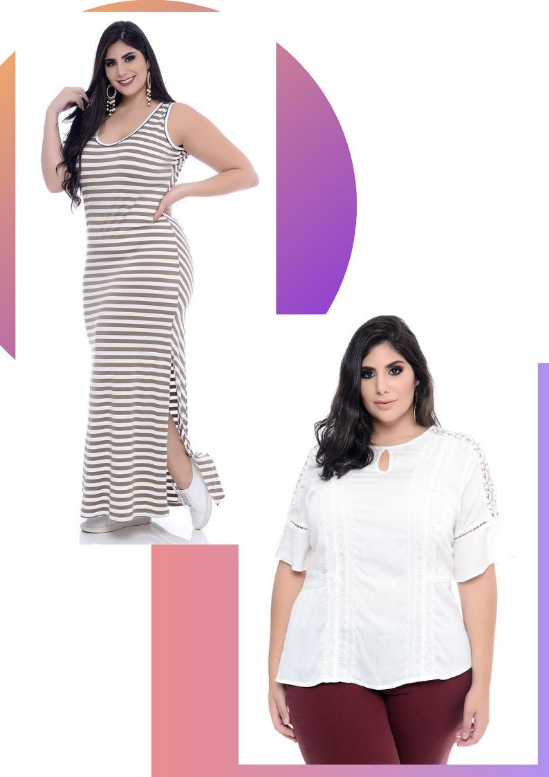 b4085bfe7 Quais São as Roupas da Moda Verão Plus Size? - Blog da VK Moda Plus ...