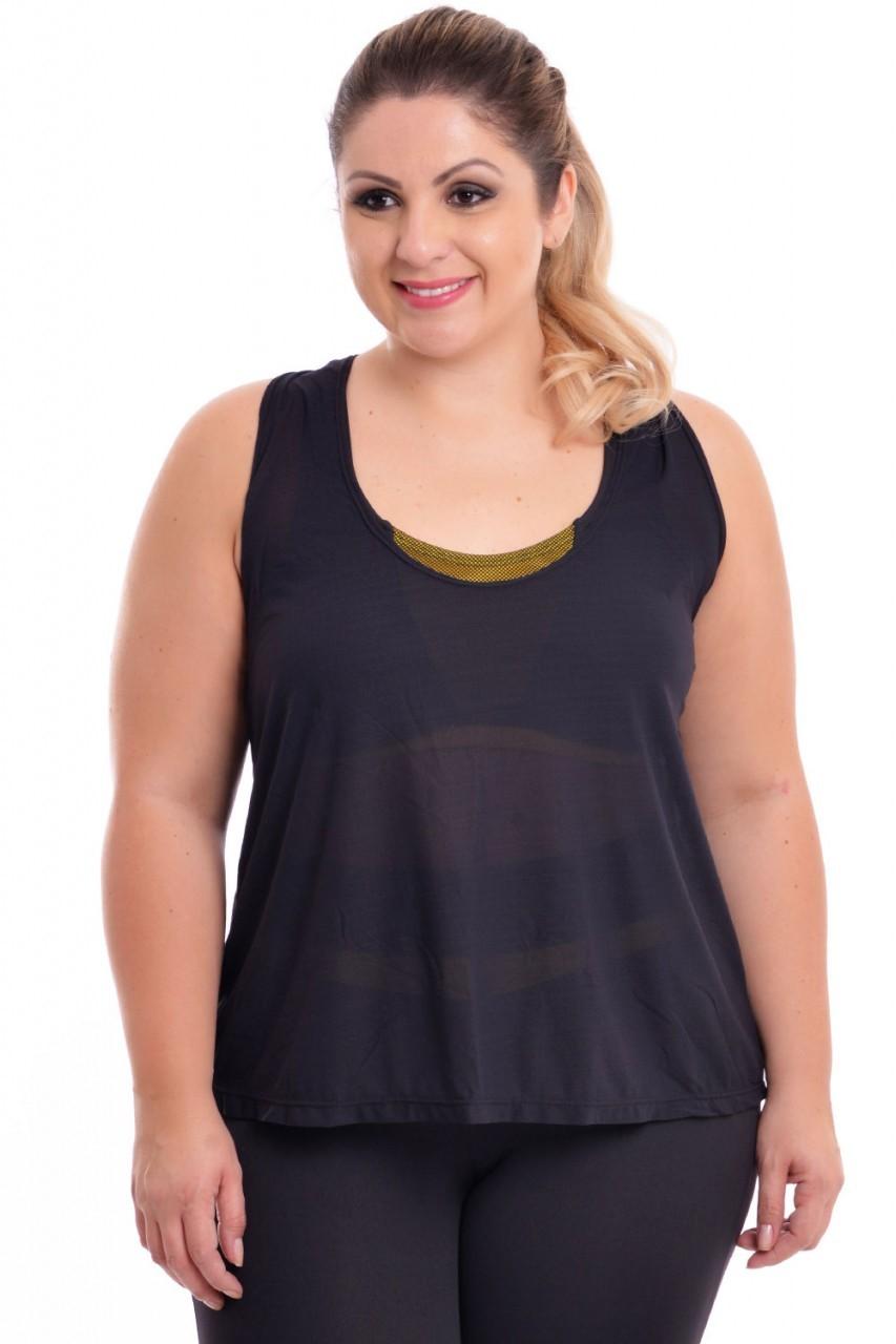 Regata Plus Size Fitness Black
